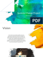 system change project