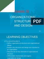Organizational Structure & Design