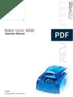 Rotor-Gene 6000 Manual