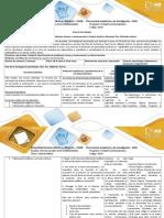 Guía de Actividades y Rúbrica de Evaluación Paso 3 Reflexión Teorica
