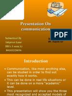 Communication Models Presentation 2154
