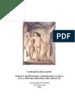 Mito y Mitología en La Pintura Contemporánea