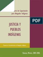Acceso a La Justicia Indígena