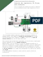 Diagrama de Conexion Prusa i3