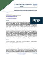 Multidimensional Randomness, Standard Random Variables and Variance Algebra