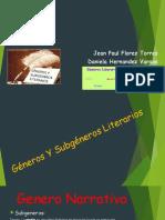 SUBGENEROS LITERARIOS
