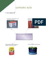 Sulphuric Acid And Ammonia
