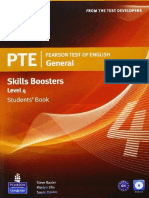 PTE General Skills Boosters 4 SB