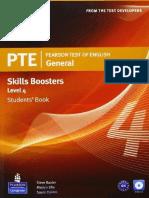 PTE General Skills Boosters 4 SB
