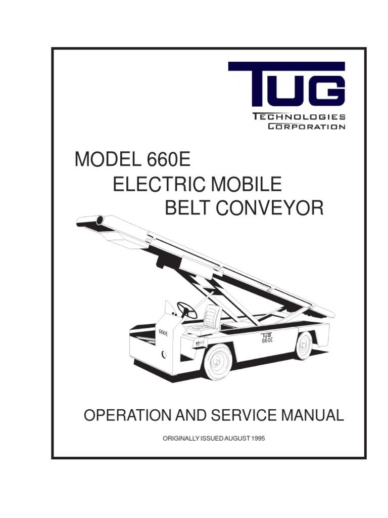 Tug 660e Rev Electric Mobile Belt Conveyor 3 Brake Patent