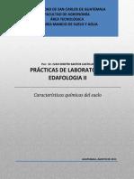 Manual Practicas de Laboratorio Edafología II