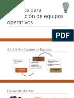 Consejos Para Verificación de Equipos Operativos