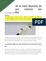 Adaptaciones Evolutivas. Nariz y Mocos.pdf