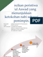 Kuliah 3 - Perincikan Peristiwa Hajarul Aswad Yang Menunjukkan Ketokohan NabKi