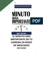 30.- El Minuto Más Importante en ru Carrera de Redes de Mercadeo -Ken Dunn.pdf