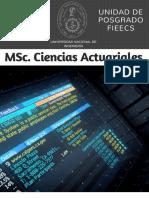 MSc en Ciencias Actuariales UNI