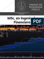 MSc Ingeniería Financiera UNI