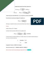Tranformación de analito en ppm a oxido en porcentaje