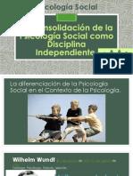 197172234 La Consolidacion de La Psicologia Social Como Disciplina