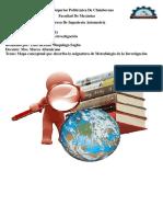Mapa Conceptual Metodologia De La Investigacion