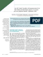 2008 - Sociedad Chilena de Infectología respecto a la vacuna anti-virus papiloma