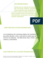 Diapositivas Sobre Cultura Organizacional