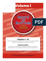 Teachers Guide-Roots of Rhythms Volume I