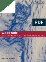 Wabi Sabi - The Japanese Art of Impermanence (Art Design Philosophy Ebook).pdf