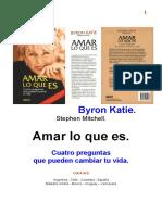 153230463 Byron Katie Amar Lo Que Es Revisado 17-8-2007