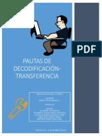 Pautas de Codificación y Transferencia