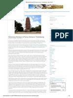 Berwisata Budaya Di Pulau Kemaro, Palembang - Situs Tekno