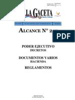 Normativa de Tecnologos 2017-Gaceta