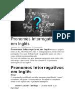 Pronomes Interrogativos em Inglês.doc