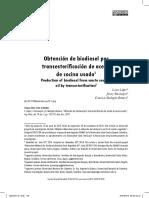 Obtención de biodiesel por transesterificación de aceite usado.pdf