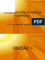 Unidad 1 Organizacion Gerencia y Empresa
