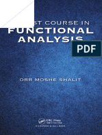 Kursus Pertama Analisa Fungsi Mosha Shalitkan