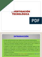 investigación tecnológica