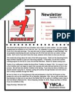Red9Runners Sept 2010 Newsletter