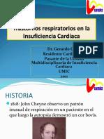Insuficiencia Cardiaca y Trastornos Respiratorios