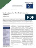 3. Plan de Tratamiento Sector Posterior