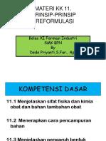 245241784 Kd 1 Menerapkan Prinsip Preformulasi