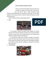 10 Macam Olahraga Atletik