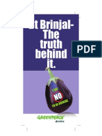 Bt Brinjal Briefing Booklet