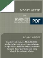(Model ADDIE)