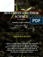 Botanists and Their Science