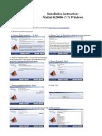 Matlab R2008b-Installation Instruction