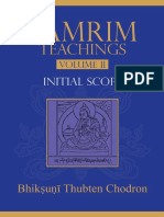 Lamrim Teachings 2 Initial Sc Thubten Chodron