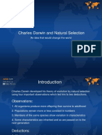 14-16yrs - Darwin - Charles Darwin and Natural Selection - Classroom Presentation