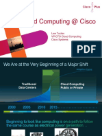 Cloud Computing at Cisco Lew Tucker Keynote