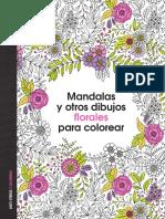 Mandalas y Otros Dibujos Florales Para Colorear-1-10